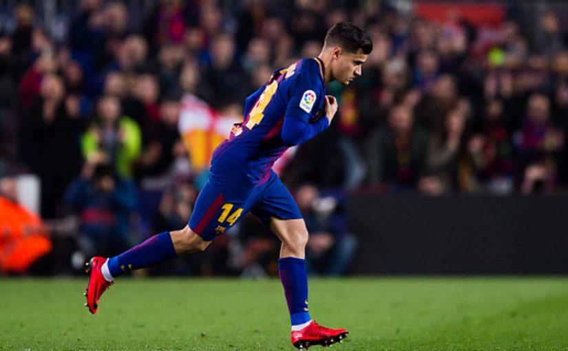 Coutinho hizo que el Camp Nou bailará samba