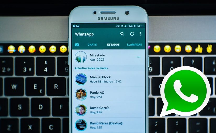 Conservar estados de WhatsApp
