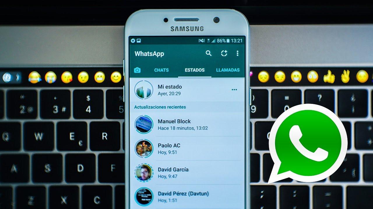 Conservar estados de WhatsApp