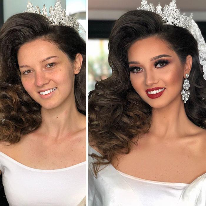 transformacion maquillaje